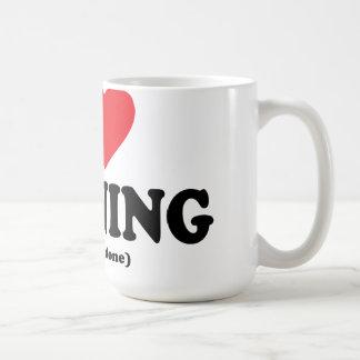 funny i love running mug