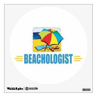 Funny I Love the Beach Wall Sticker