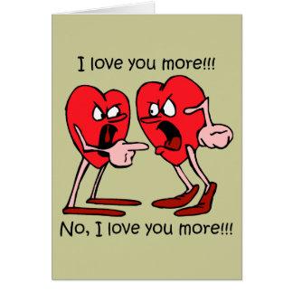 Funny I love you Card