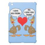 funny I love you iPad Mini Cases