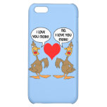 funny I love you iPhone 5C Cover
