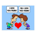 funny I love you Postcard