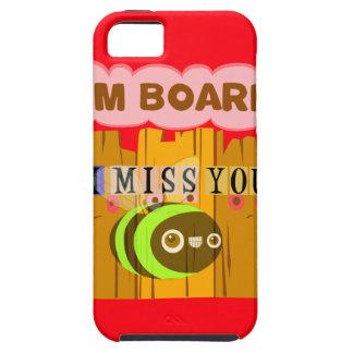 Funny I Miss You I am Bored iPhone SE/5/5s Case