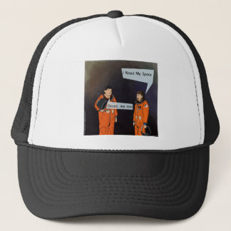Funny I Need My Space Trucker Hat