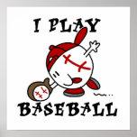 Funny I Play Baseball Tshirts and Gifts Print
