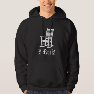Funny! I ROCK Rocking Chair Hoodie