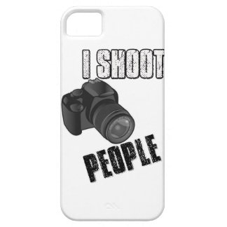 Funny I shoot people photographer iPhone 5/5S Cases