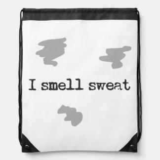 Funny I smell sweat © Sports Humor Drawstring Bag