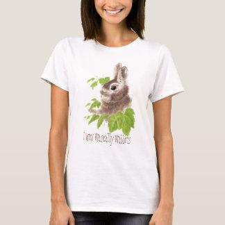 Funny,I wuv wascally, love rascally, Bunny Rabbits T-Shirt