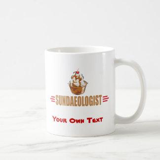 Funny Ice Cream Sundae Classic White Coffee Mug