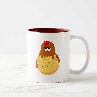 Funny Ice Cream Two-Tone Coffee Mug