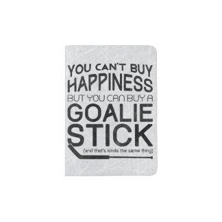 Funny Ice Hockey Goalie Passport Holder