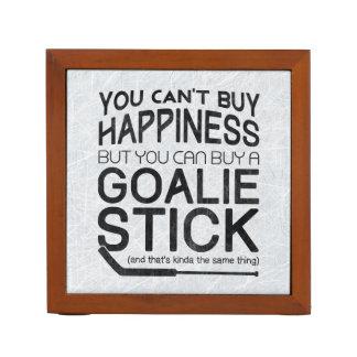 Funny Ice Hockey Goalie Pencil Holder