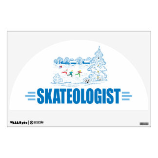 Funny Ice Skating Room Decals