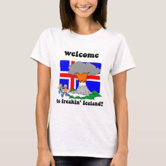 Funny Iceland volcano T-Shirt