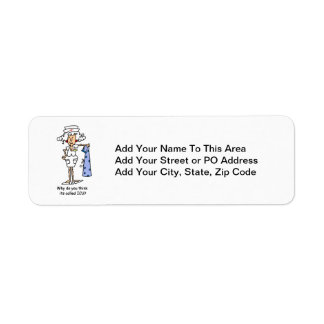 Funny ICU Nurse T-shirts and Gifts Label