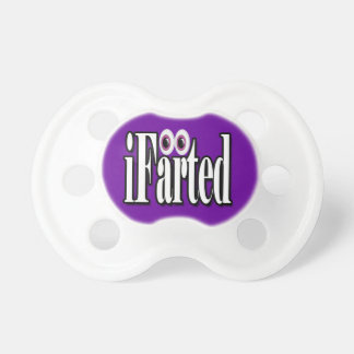 Funny iFarted baby Baby Pacifier