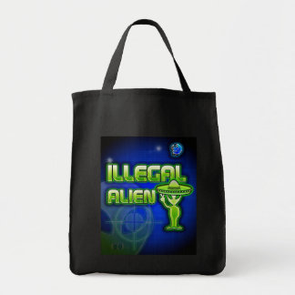 Funny Illegal Alien Bags