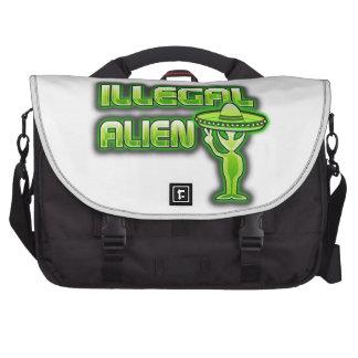 Funny Illegal Alien Laptop Bag