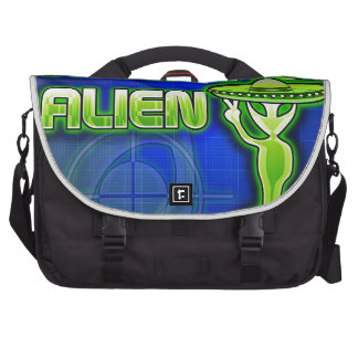 Funny Illegal Alien Laptop Computer Bag