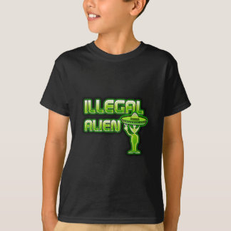 Funny Illegal Alien T-Shirt