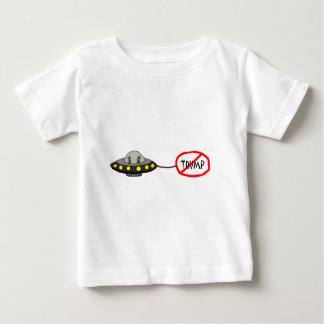 Funny Illegal Aliens Against Trump Cartooon Baby T-Shirt