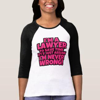 Funny I'm a Lawyer Women's shirt