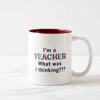 Funny I'm a Teacher Tshirts and Gifts Coffee Mugs