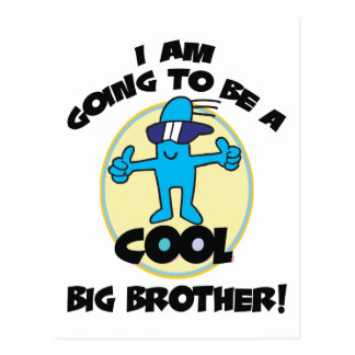 Funny I'm Going To Be A Big Brother Postcard