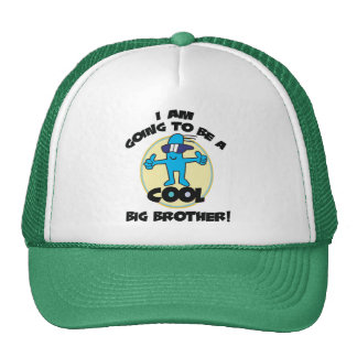 Funny I'm Going To Be A Big Brother Trucker Hat