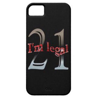 Funny I'm Legal Age 21 Years Old Birthday iPhone SE/5/5s Case