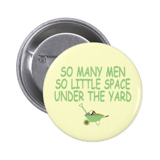 Funny image women's pinback button