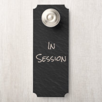 Funny In Session Therapist Door Hanger