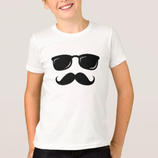 Funny incognito smiley mustache trendy hipster T-Shirt