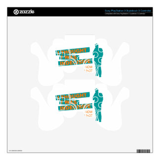 Funny Indecisive PS3 Controller Skin