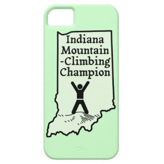 Funny Indiana Mountain Climbing Champion iPhone 5 Cases