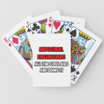 Funny Industrial Engineer Shirts and Gifts Bicycle Poker Deck