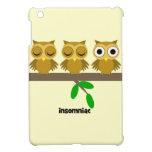 funny insomniac owl cover for the iPad mini