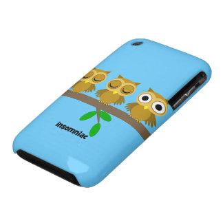 funny insomniac owl iPhone 3 Case-Mate case