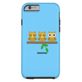 funny insomniac owl iPhone 6 case