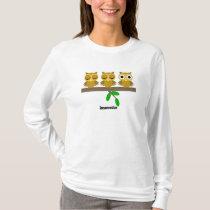 funny insomniac owl T-Shirt