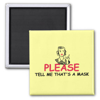 Funny insult 2 inch square magnet