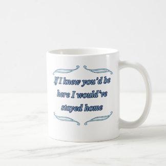 Funny insult coffee mug