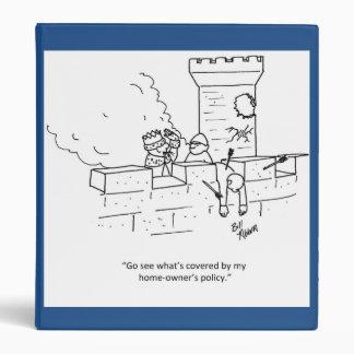 "Funny Insurance Humor 1"" Binder"