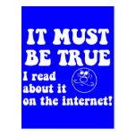 Funny internet postcard