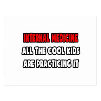 Funny Internist Shirts and Gifts Postcard