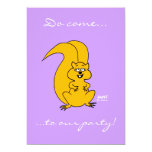 """Funny Invitation To Any Party Or Gathering 5"""" X 7"""" Invitation Card"""