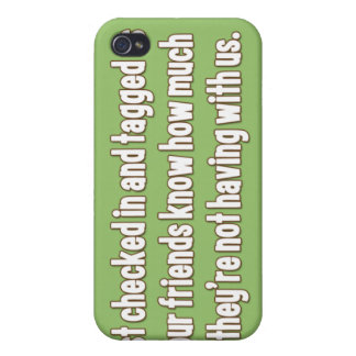 Funny iPhone case about Facebook iPhone 4/4S Covers