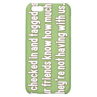 Funny iPhone case about Facebook iPhone 5C Cases