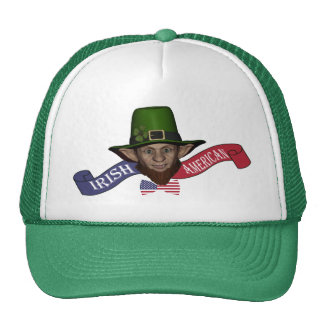 Funny Irish American St Patrick's day Trucker Hat